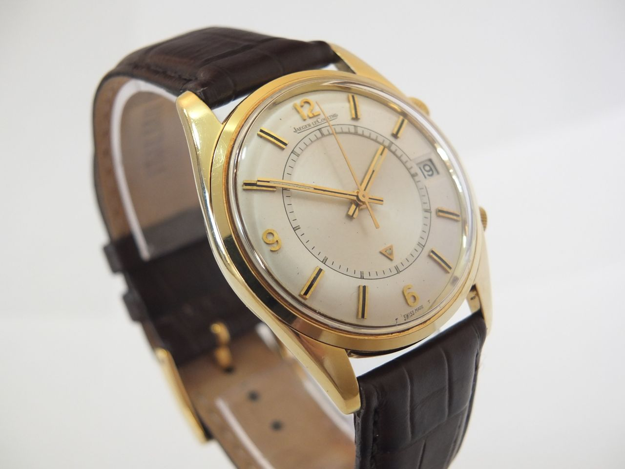 jaeger lecoultre memovox 18k 1962 vintage gold watches