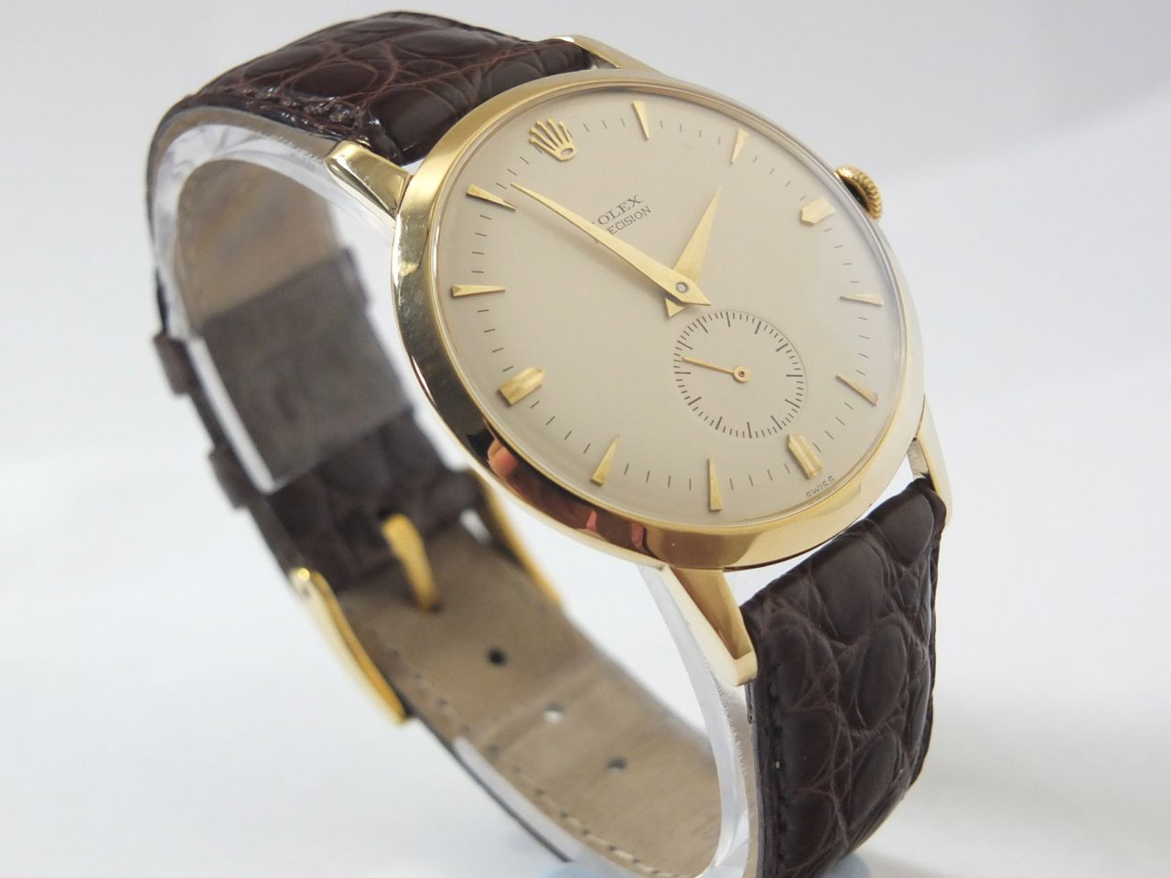 Oversized vintage wristwatch