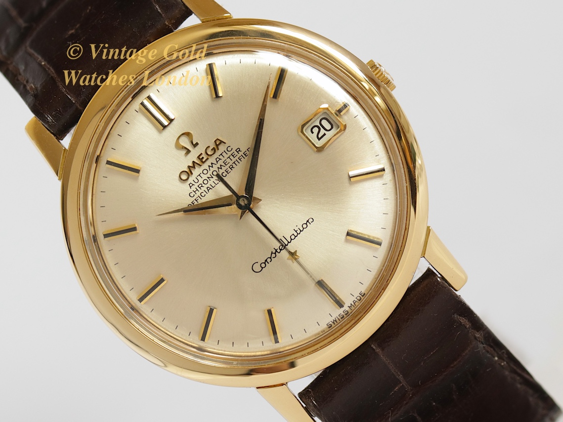 Omega Constellation 18k 1967 Sorry Now Sold 18th April
