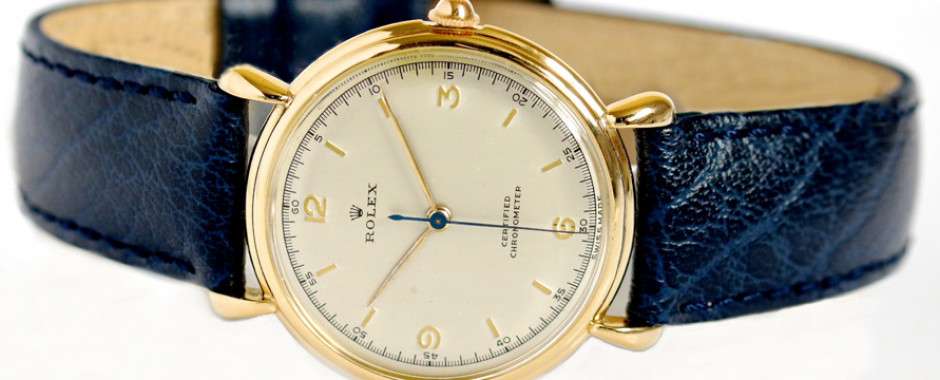 Vintage Gold Watches Rolex Omega Jaeger-LeCoultre IWC ...