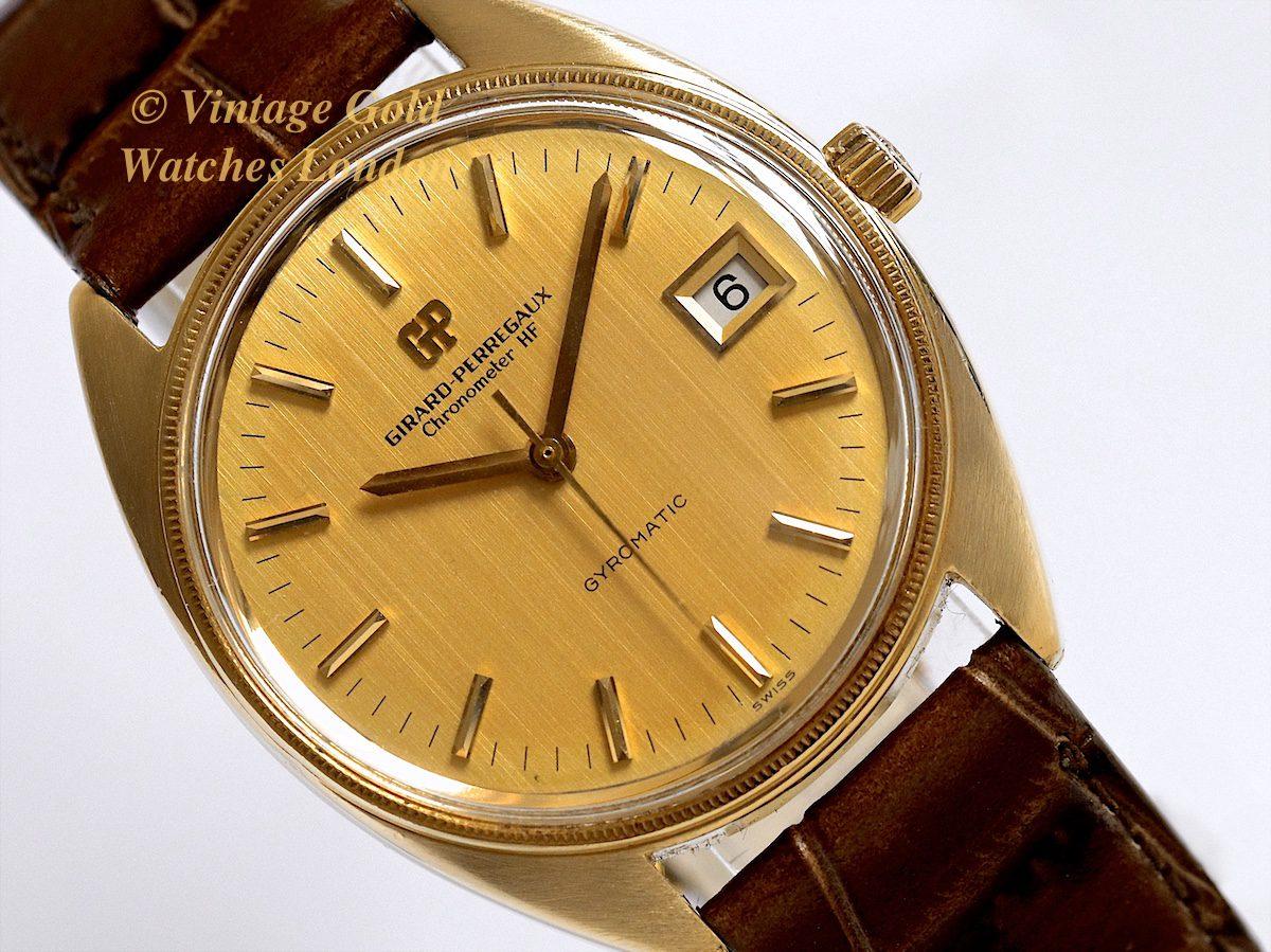 Auto Warranty Companies >> Girard-Perregaux 18K Auto 1968 Chronometer HF Gyromatic ...