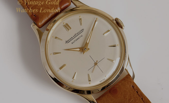 6a245ba32bc Vintage Gold Watches Rolex Omega Jaeger-LeCoultre IWC Longines Zenith.